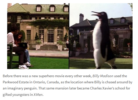 Famous Movie Sets That Get Reused All The Time (10 pics)