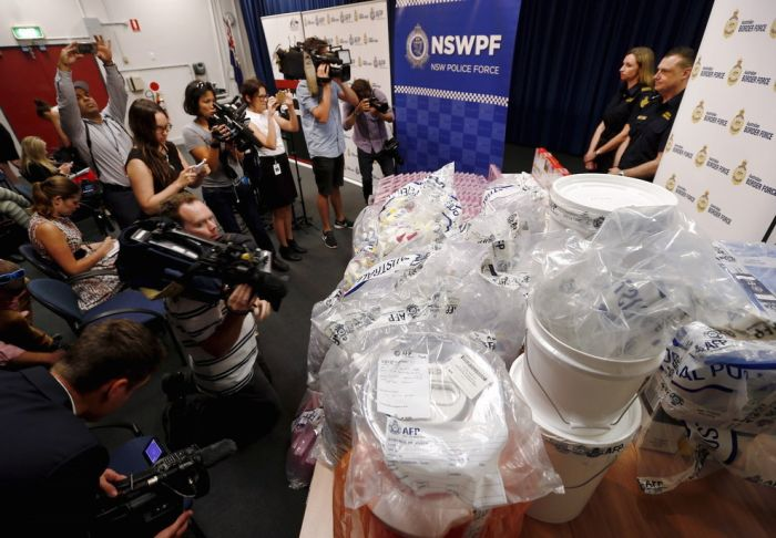 Police Find Huge Meth Stash In Gel Bra Inserts For Women (6 pics)