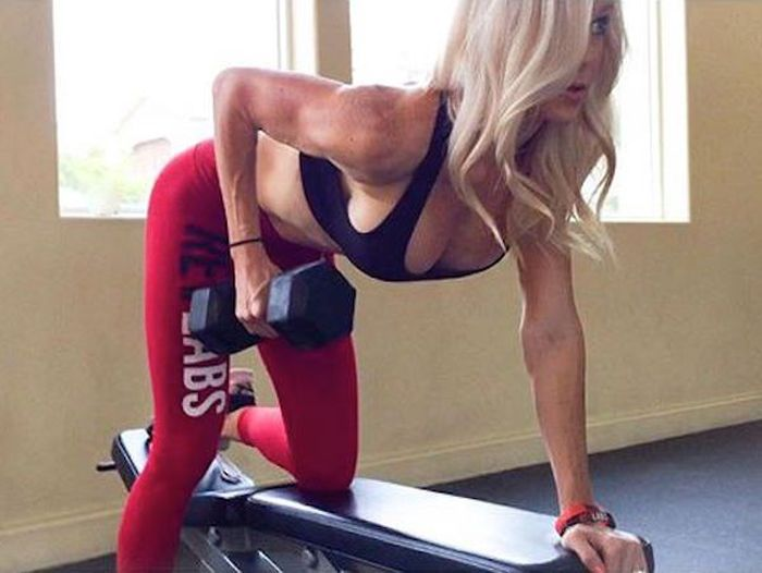 These Gifs Of Gorgeous Women Working Out Will Inspire You To Hit The Gym (13 pics)