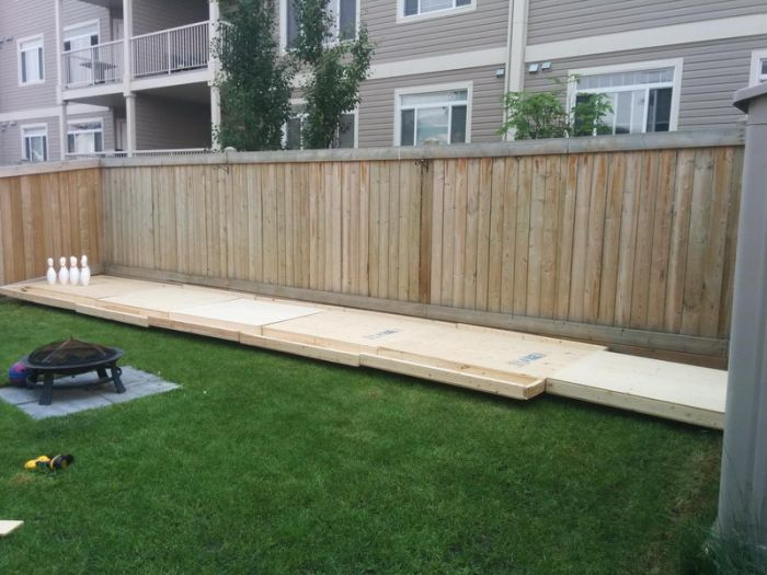 A Backyard Bowling Alley Is Something Everyone Needs In Their Lives (6 pics)