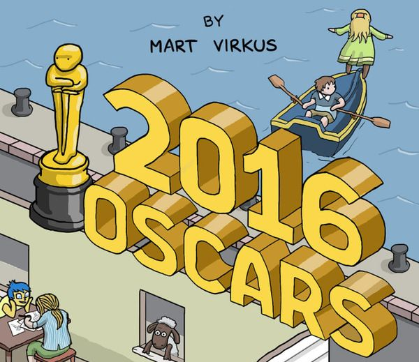 Artist Crams The 2016 Oscar Nominated Movies Into One Awesome Illustration (2 pics)