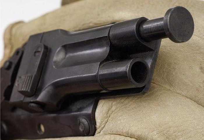 The Glove Gun Gives You A Pistol On Hand At All Times (6 pics)
