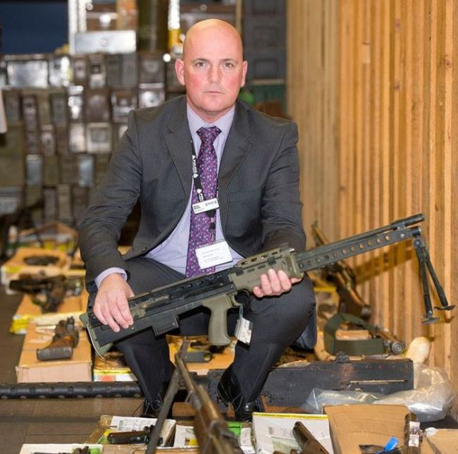 Police Find Huge Arsenal Belonging To A Parish Council Chairman (12 pics)