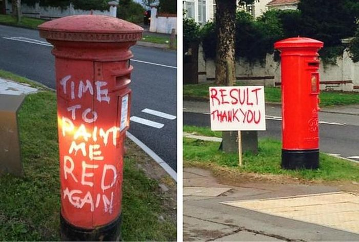 Acts of Vandalism That Made The World a More Hilarious Place (20 pics)