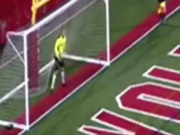Guy Trolls Goalkeeper Afterwards