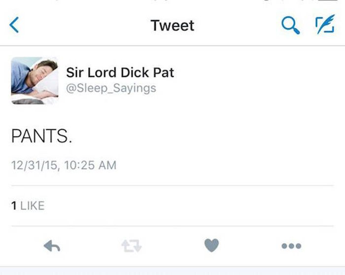 Girlfriend Shares The Funny Things Her Boyfriend Says In His Sleep On Twitter (18 pics)