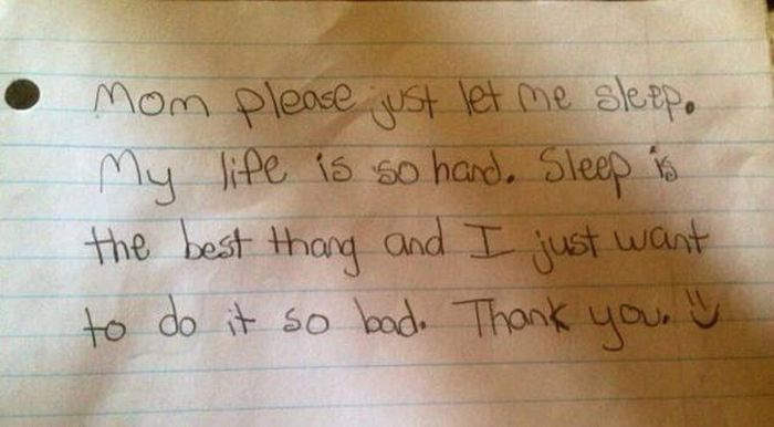 Innocent Kids Who Had No Idea They Were Writing Offensive Notes (30 pics)