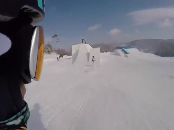 Olympic Ski Track Pyeongchang