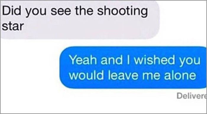 Getting A Text From Your Ex Can Be The Worst (37 pics)