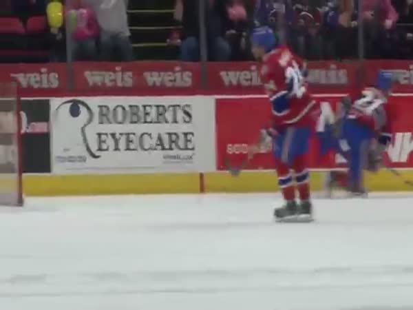 Bud Holloway Goes Superman To Prevent Goal