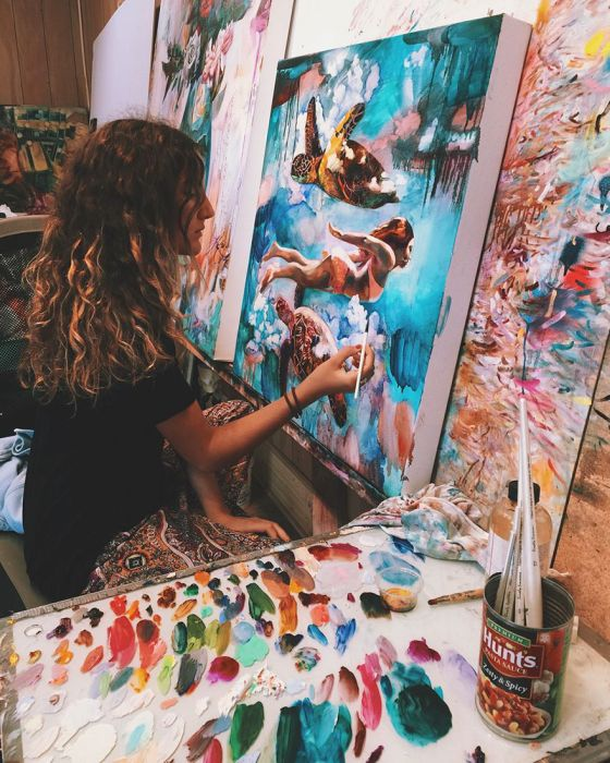 16 Year Old Artist Creates Breathtaking Art That Will Blow Your Mind (13 pics)