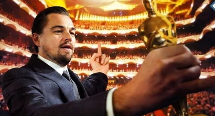 The Internet Had Some Hilarious Reactions To Leonardo DiCaprio's Oscar Win (16 pics)