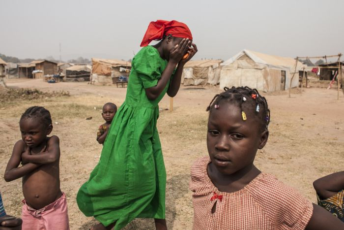 Camp M'Poko Has Become A Haven For Refugees (11 pics)
