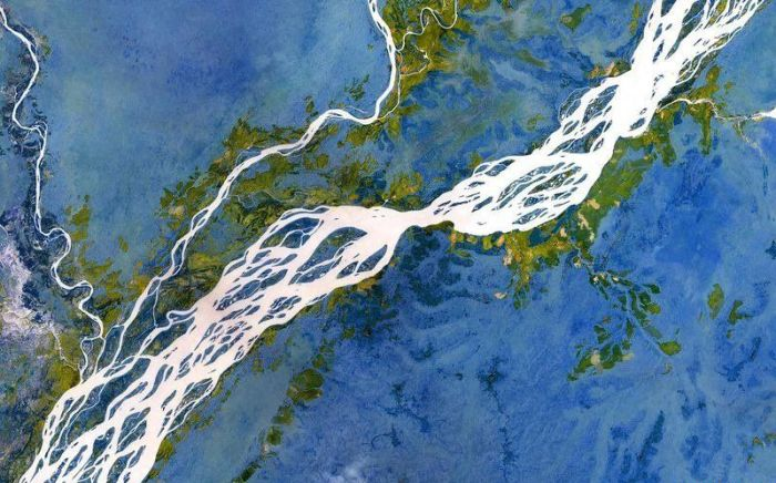 Braided Rivers Are The Most Beautiful Rivers On Earth (16 pics)