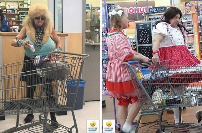 People of Walmart. Part 28 (55 pics)