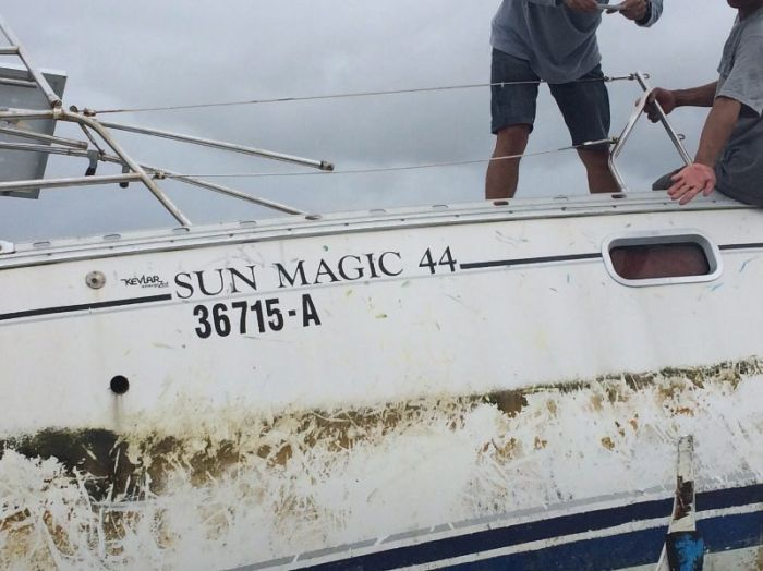 Mummified Body Found On Mysterious Yacht In The Philippines (5 pics)
