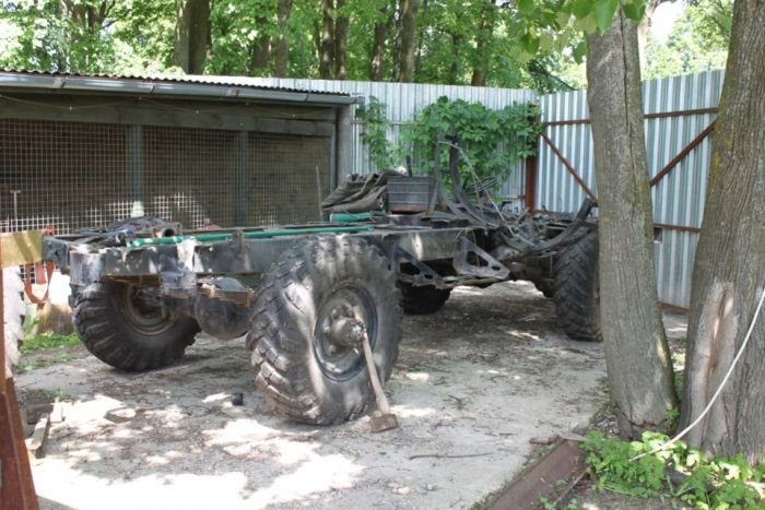 How To Turn A Mercedes Into An Off Road Vehicle (30 pics)