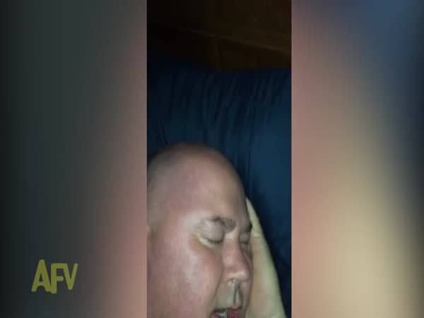 Wife Catches Husband Giggling In His Sleep