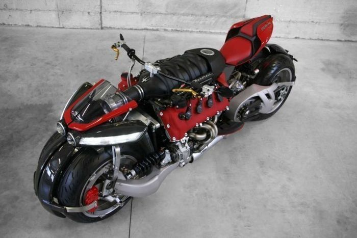 This Maserati Engine Powered Bike Is A Motorcycle Lover's Dream Come True (11 pics)