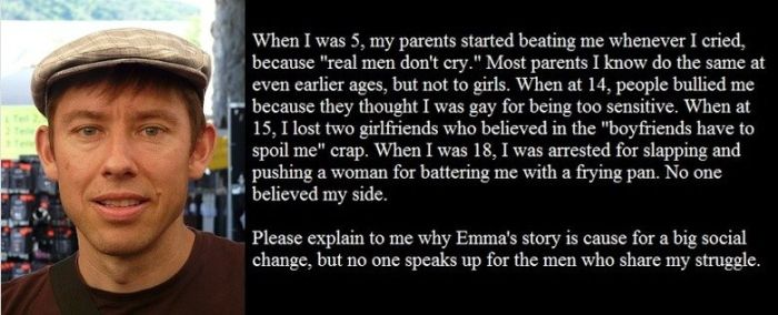 Guy Uses An Emma Watson Quote To Prove A Point About Perspective (2 pics)