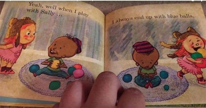 Kids Probably Shouldn't Be Reading This Dirty Book (8 pics)