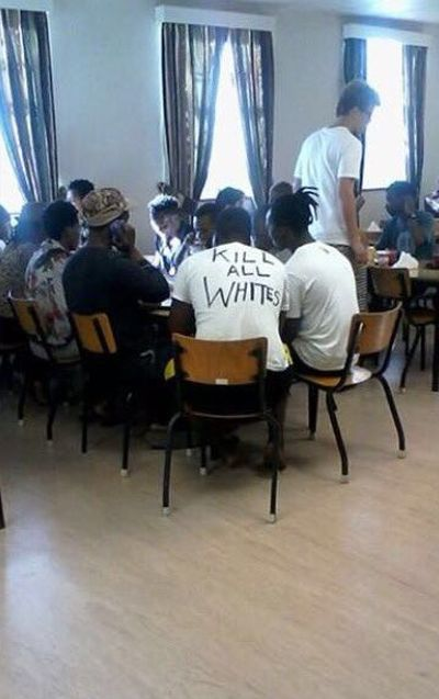 Racist Shirt At The University Of Cape Town (2 pics)