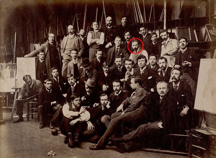 This May Be The Only Photo Ever Taken Of Vincent Van Gogh (2 pics)