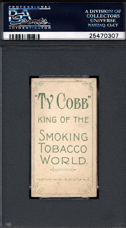 Man Discovers Rare Ty Cobb Baseball Cards In His Great Grandfather's Collection (4 pics)