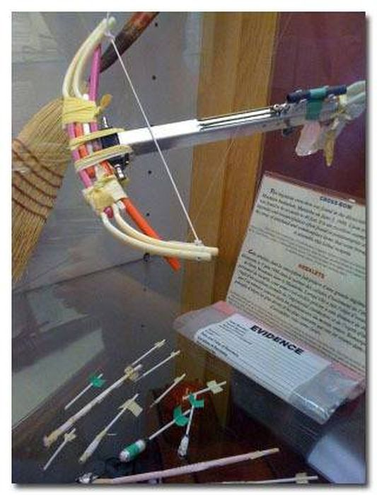 Prison Weapons You Won't Believe People Actually Made (17 pics)