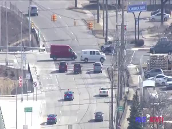 High Speed Police Chase Ends In Crash In Michigan