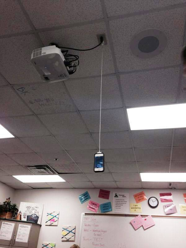 People Who Found Funny Places To Charge Their Phones (38 pics)