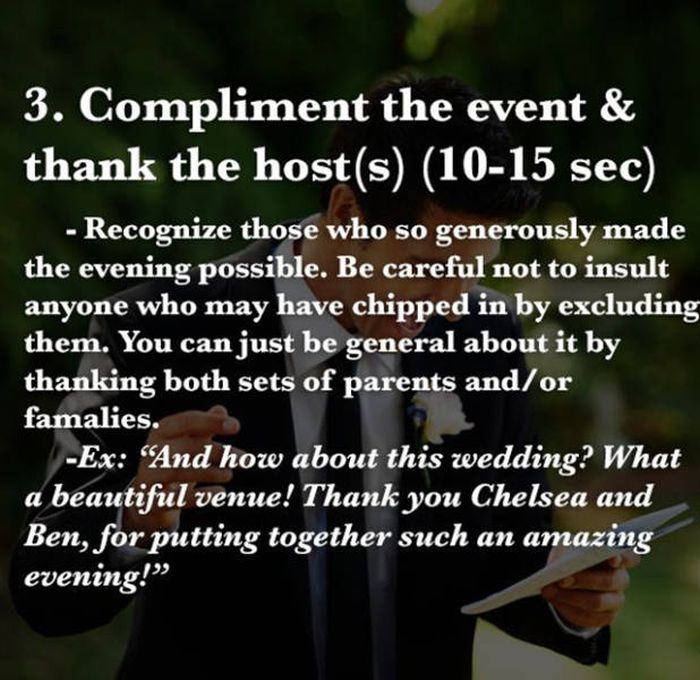 How To Give The Perfect Speech When You're The Best Man At A Wedding (10 pics)