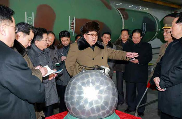 North Korea Claims They've Developed Miniaturized Nuclear Weapons (3 pics)