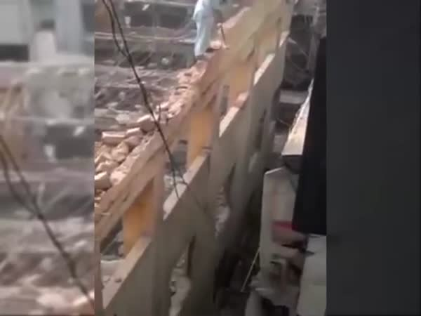 Extreme Building Demolition