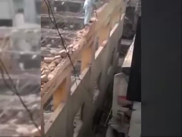 Extreme Building Demolition
