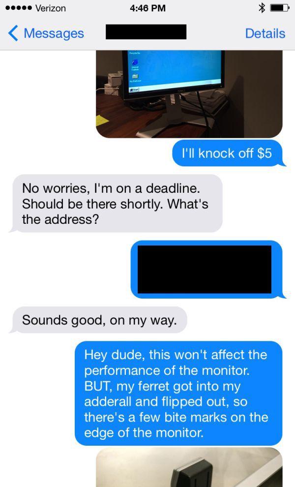 Craigslist Troll Plays Hilarious Prank On Potential Buyer (7 pics)