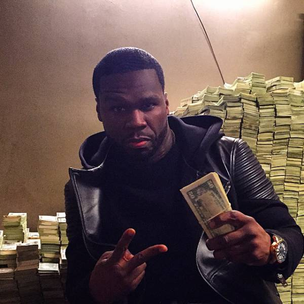 Rapper 50 Cent Definitely Doesn't Look Like He's Bankrupt (22 pics)