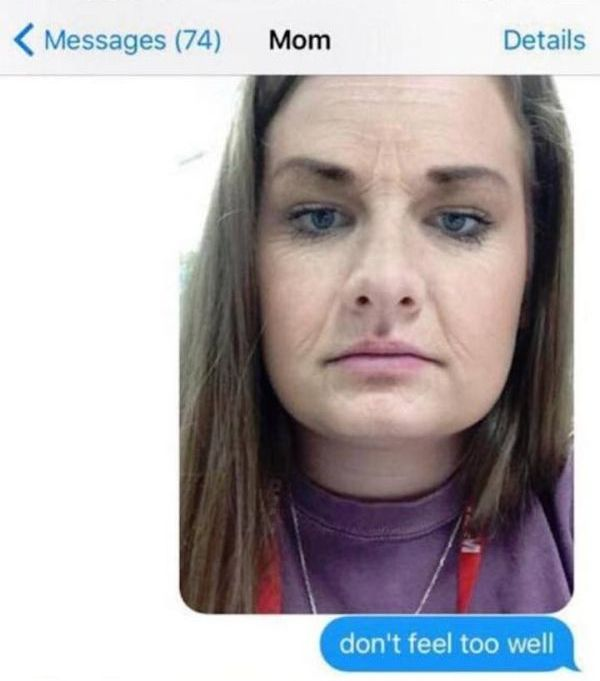 Girl Uses A Snapchat Filter To Completely Freak Out Her Mom (3 pics)