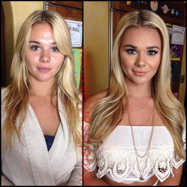 What Playboy Models Look Like With And Without Makeup (18 pics)
