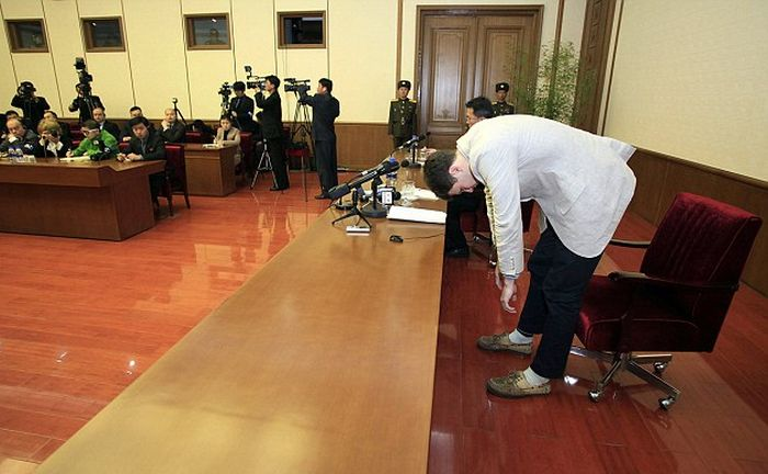 American Student Sentenced To 15 Years Hard Labor In A North Korean Prison (7 pics)
