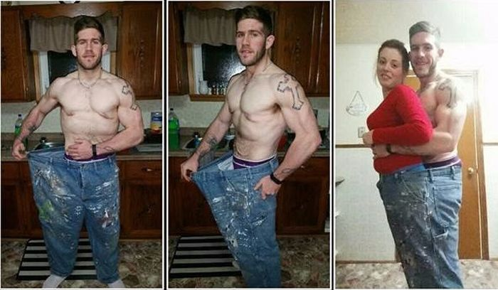 Nova Scotian Man Loses 183 Pounds And Completely Transforms His Body (6 pics)