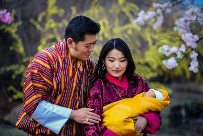 Bhutan Plants 108,000 Trees To Celebrate The Birth Of A New Prince (8 pics)