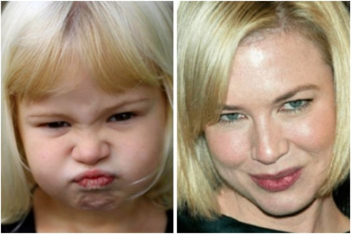 Babies Who Happen To Share Faces With Famous Celebrities (25 pics)