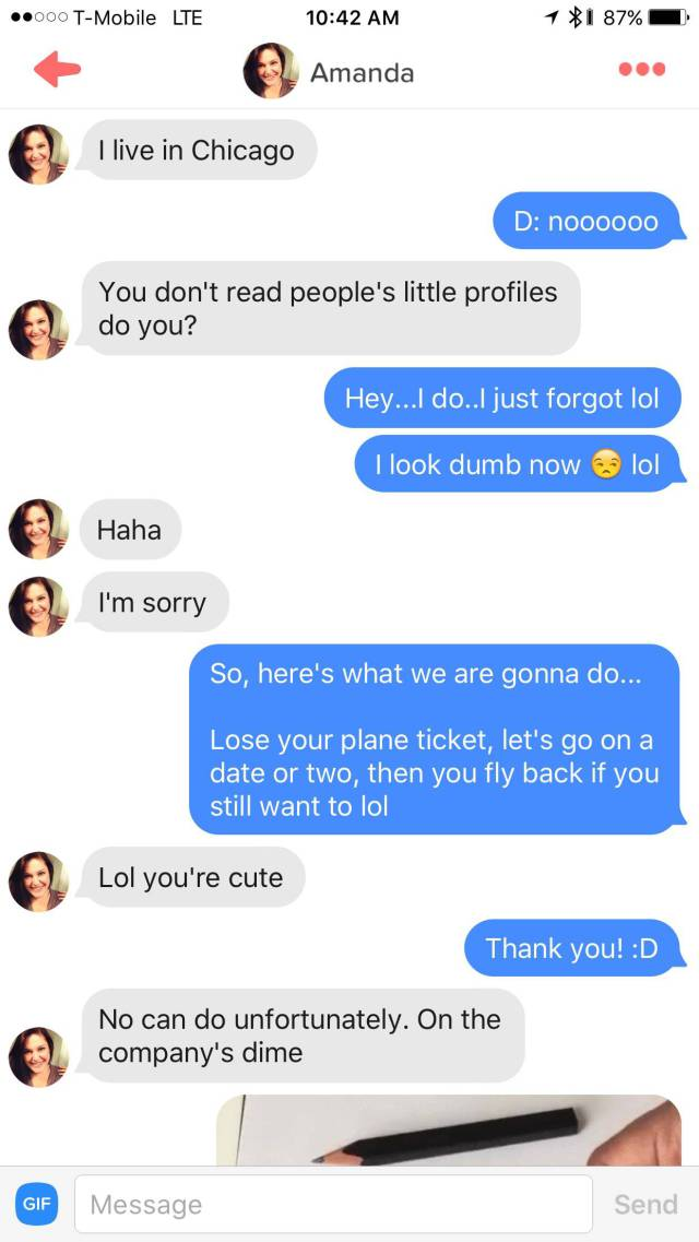 A Guy Won The Heart Of His Tinder Match By Putting An Epic PowerPoint Together (14 pics)