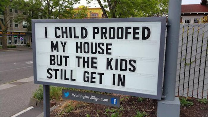 Whoever Puts Up These Signs Has A Great Sense Of Humor (18 pics)