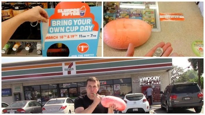 People Who Stepped Up And Nailed It On 7-Eleven's Bring Your Own Cup Day (25 pics)