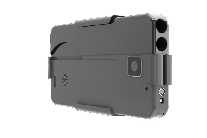 Believe It Or Not This Isn't A Smartphone, It's A Gun (3 pics)