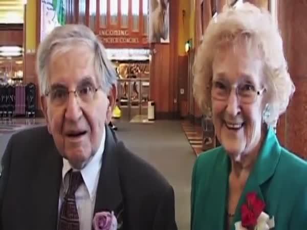 Cute Elderly Couple Tells It Like It Is