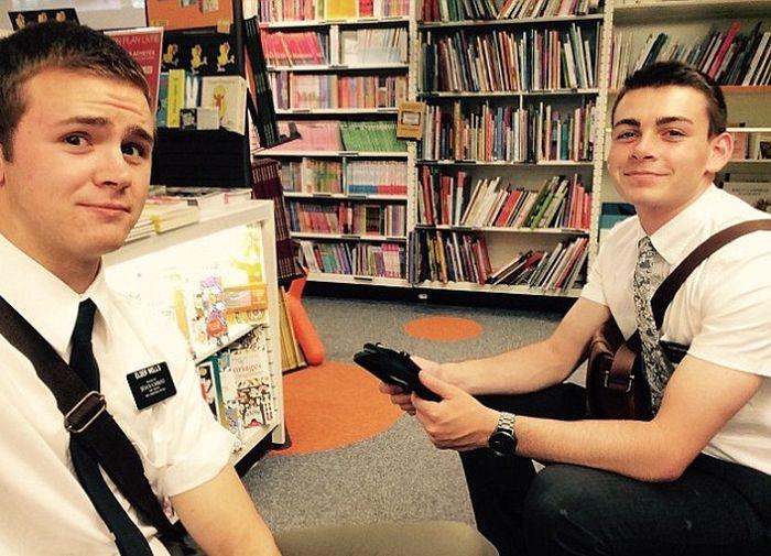 American Mormon Missionary Survives His Third Terrorist Attack (5 pics)