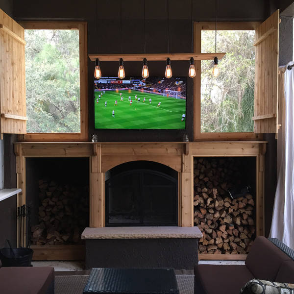 Father And Son Turn Their Porch Into The Most Elegant Man Cave Ever (25 pics)